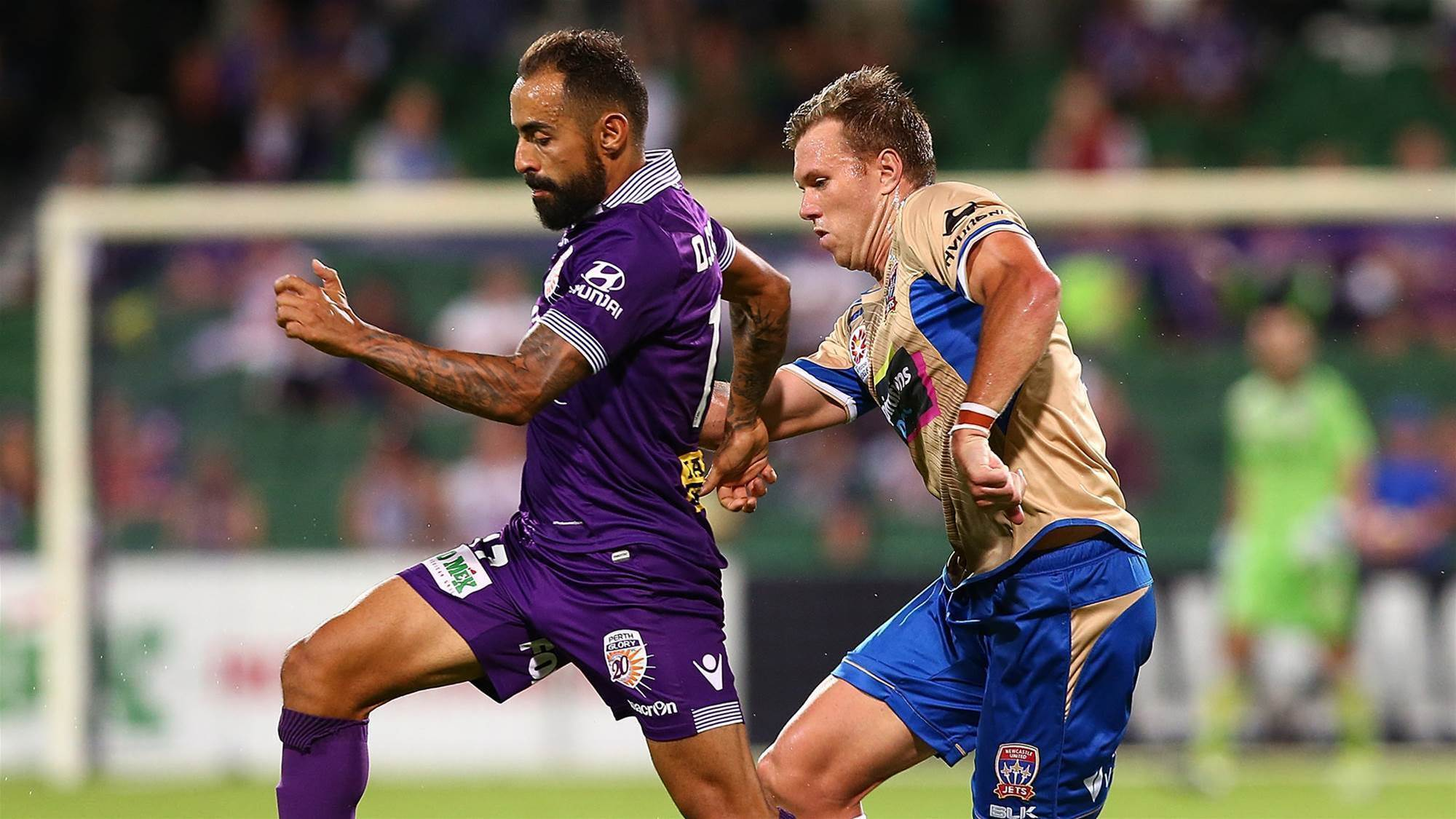 Glory edge Jets in five-goal clash