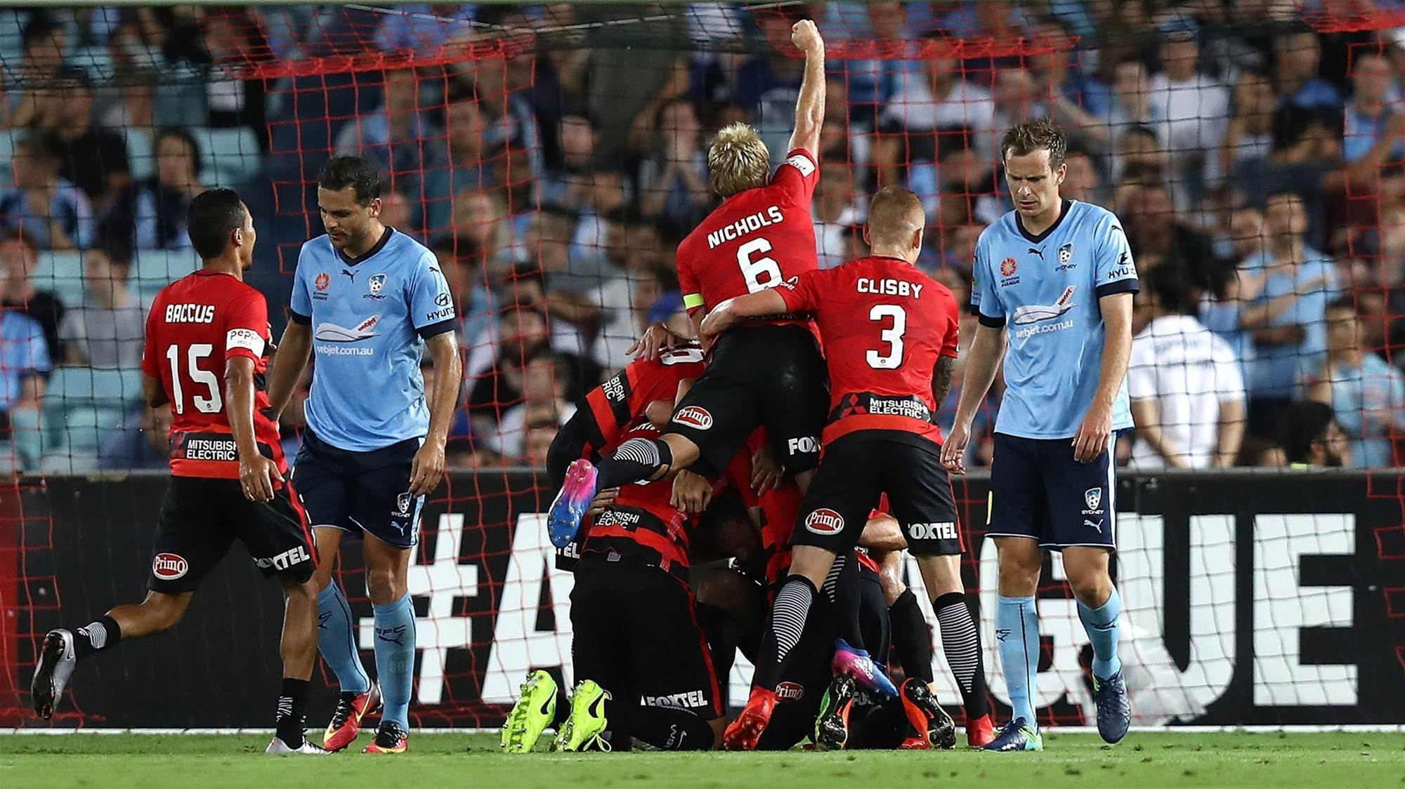 It's over! Wanderers end Sydney's unbeaten run