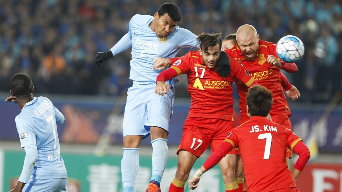 Gutsy Reds edged by Jiangsu