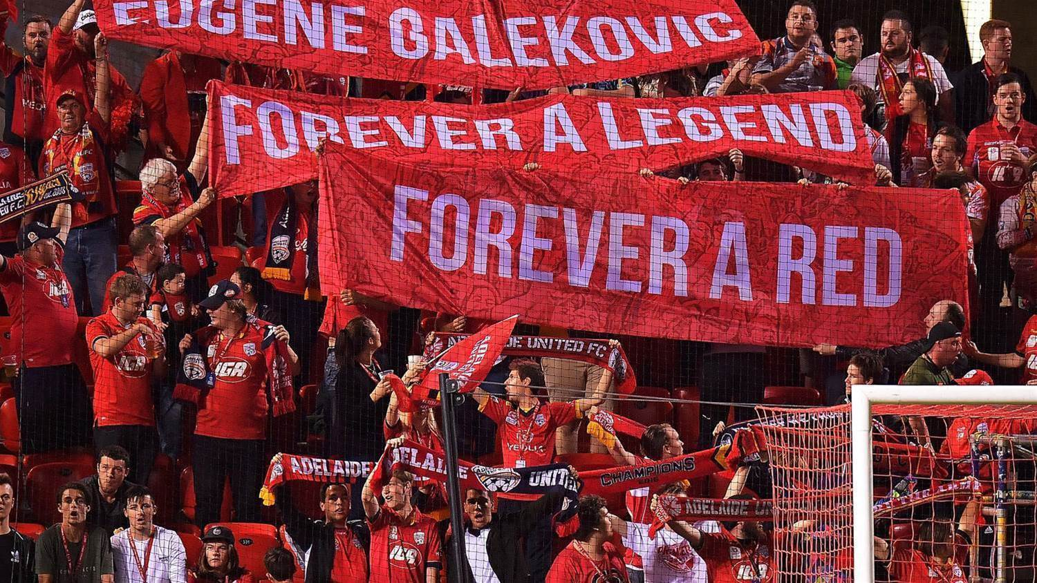 Reds legend moved by fans' tribute