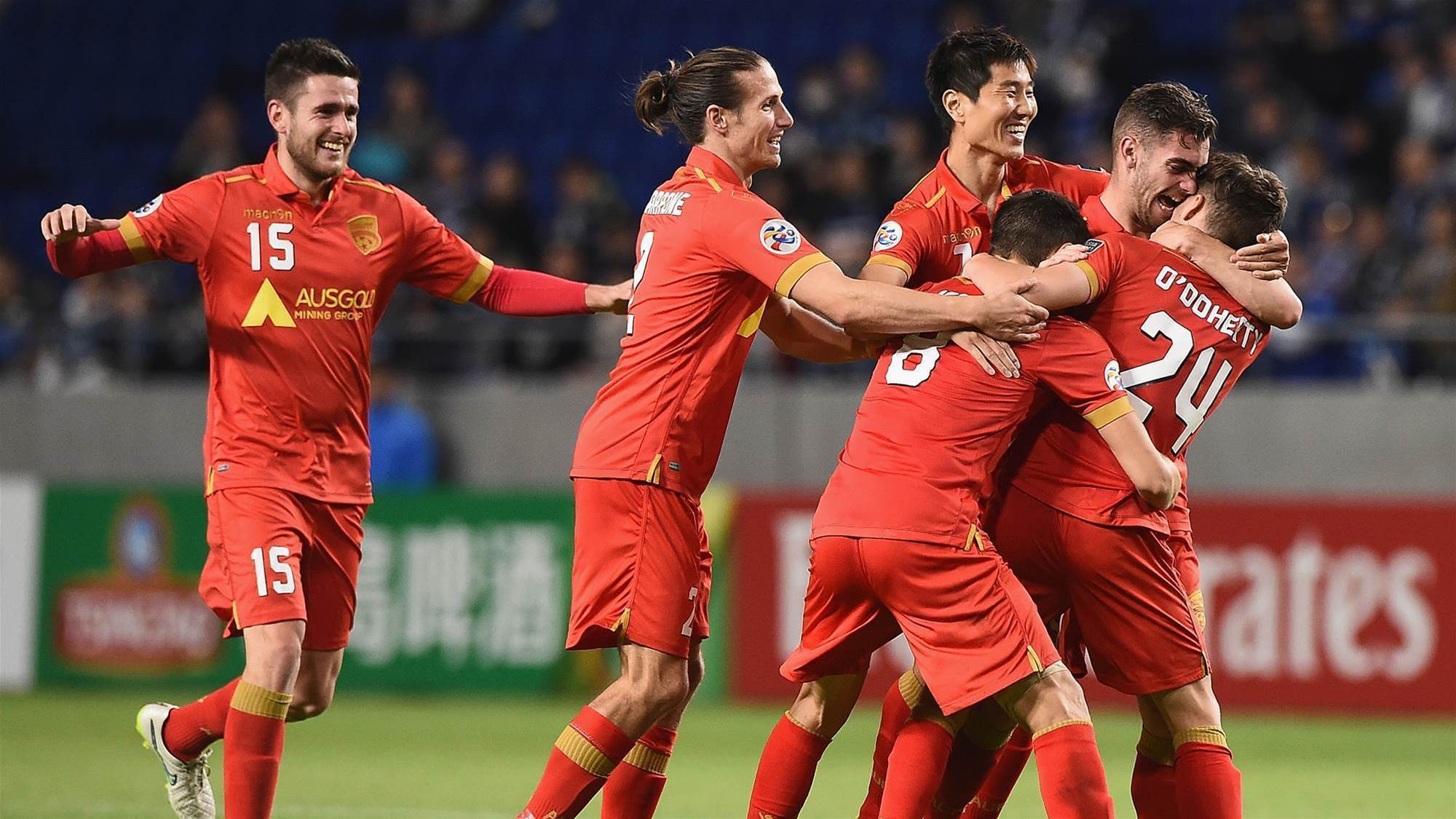 Reds draw with Gamba in epic fightback