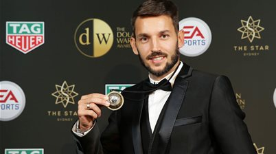 Ninkovic clinches A-League's top gong