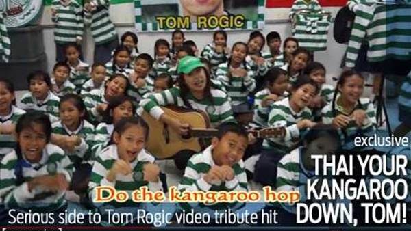 Serious side to Tom Rogic video sensation