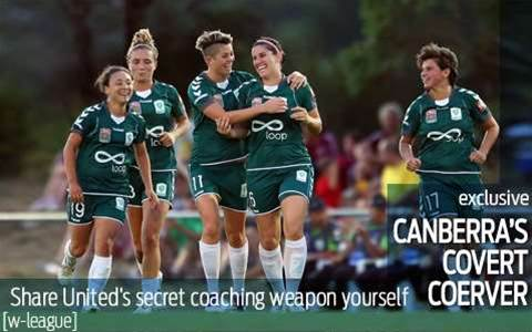 Share Canberra United's winning secret