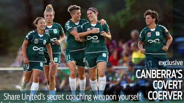 Share Canberra United's winning secret