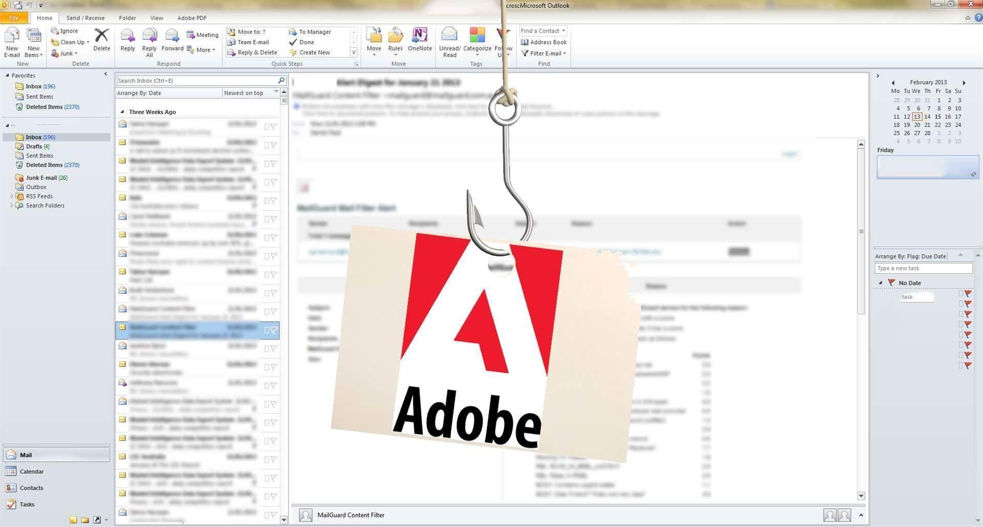 Adobe Reader zero day used in phishing attacks