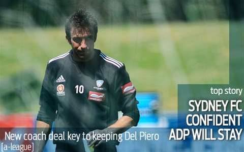 Sydney confident Del Piero will stay
