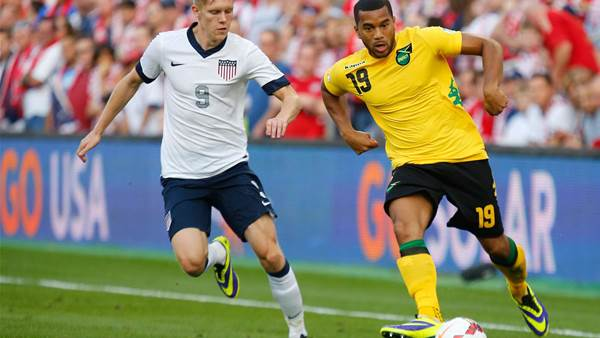 WC qualifying: United States 2 Jamaica 0