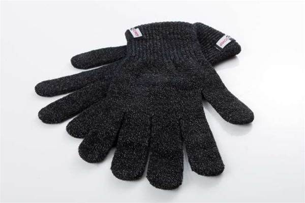A pair of gloves you can use with your iPad, phone