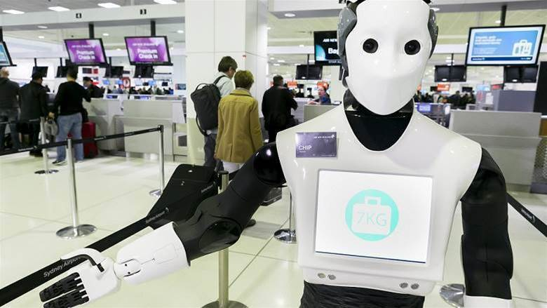 CBA loans its humanoid robot to Air New Zealand