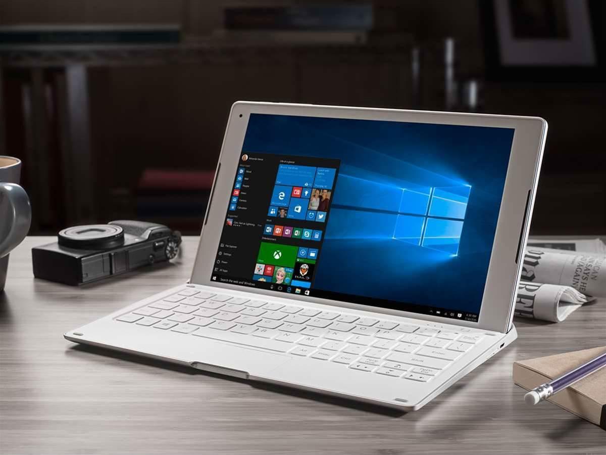 Alcatel + Windows = PLUS 10 hybrid laptop