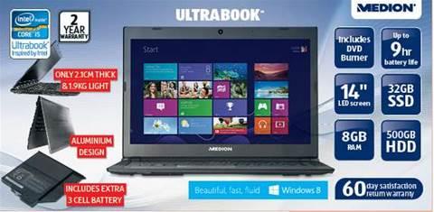 Tech deal: Aldi Ultrabook for $749