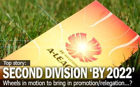 Second Division 'By 2022'?