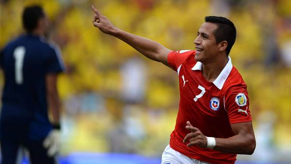 WC qualifying: Colombia 3 Chile 3