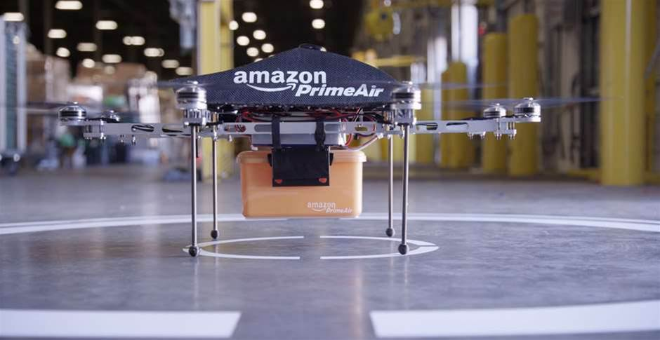 Amazon trials drones for package delivery