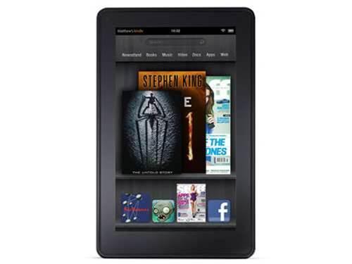 Amazon set to launch bigger Kindle Fire 2