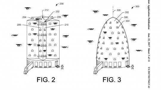 Amazon wants to house drones in giant beehives