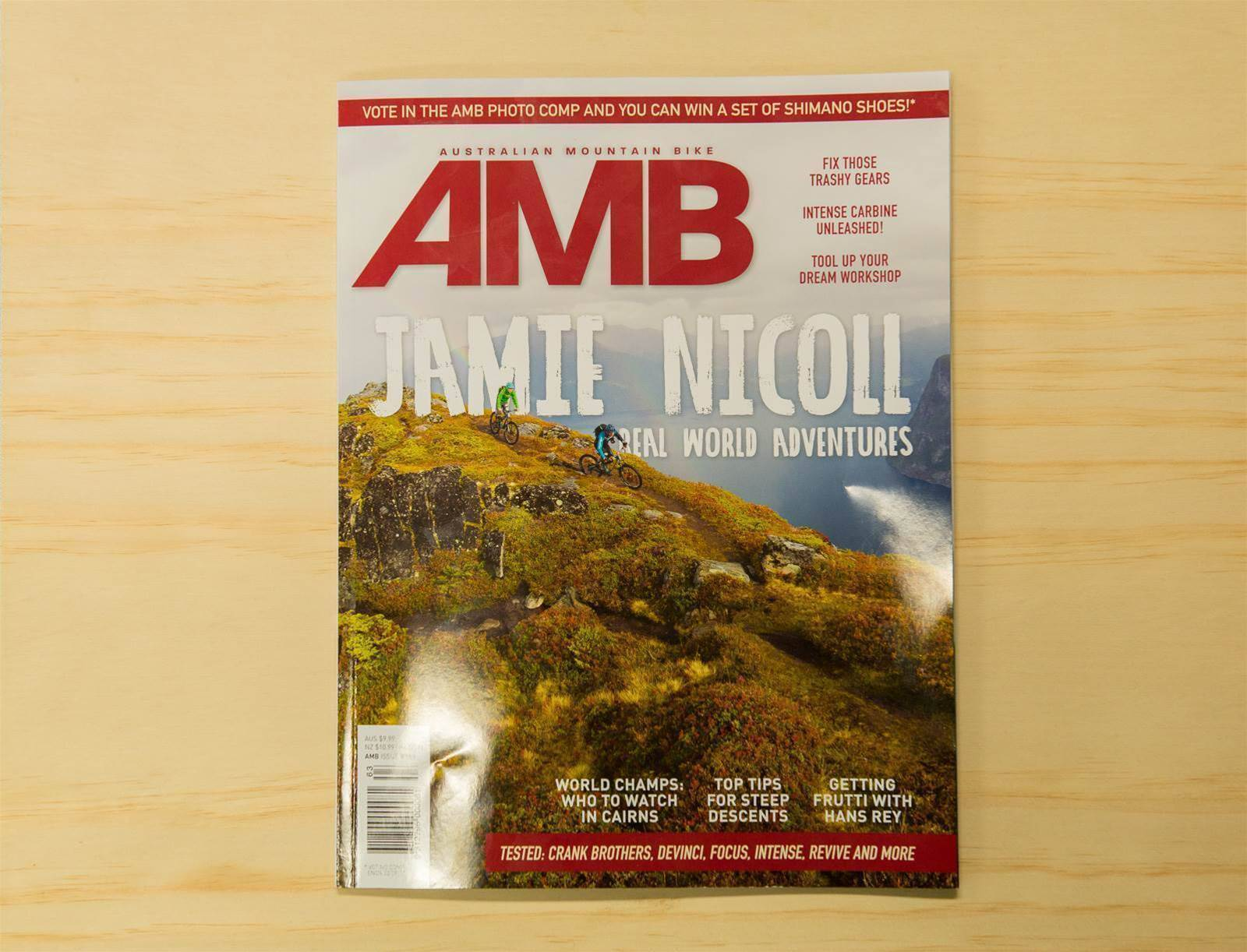 Take a look inside AMB Issue #163