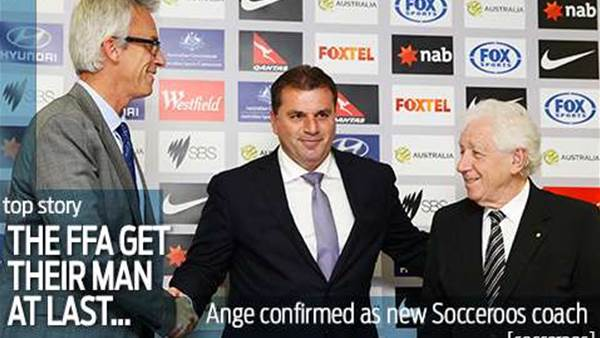 Ange unveiled as Roos coach