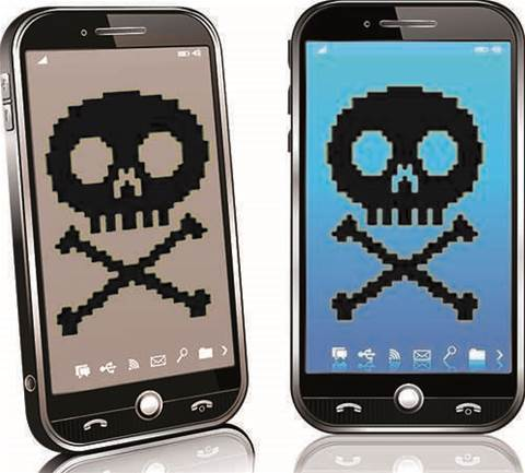 Ransomware moves to mobile