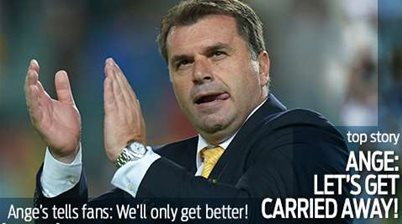 Ange: Let's get carried away!