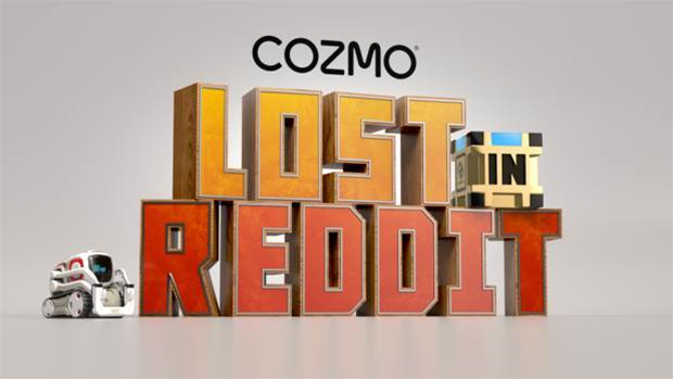 Take part in Cozmo Lost in Reddit: Reddit's first interactive game