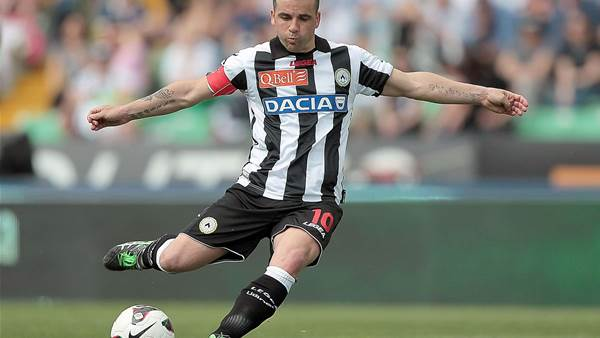 Di Natale predicts three-horse title race