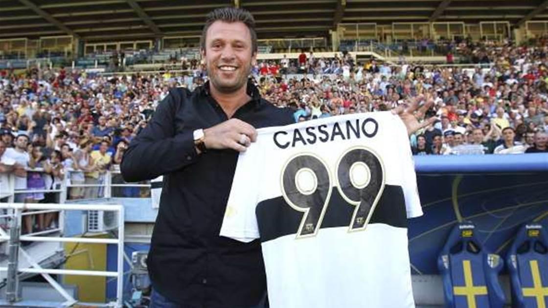 Cassano row over 'misleading' Mazzarri