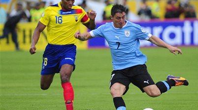 WC qualifying: Ecuador 1 Uruguay 0