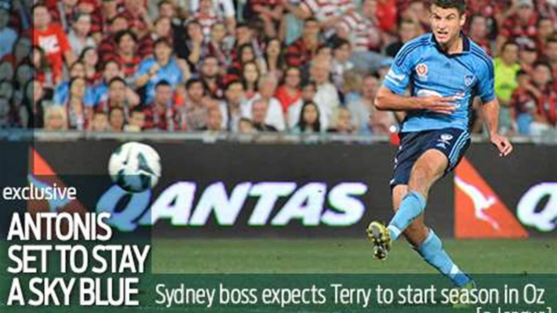 Antonis set to start season at Sydney