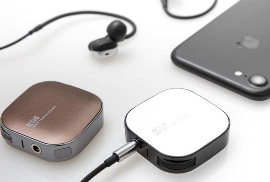 The Aqua+ wireless headphone amp turns your smartphone hi-fi