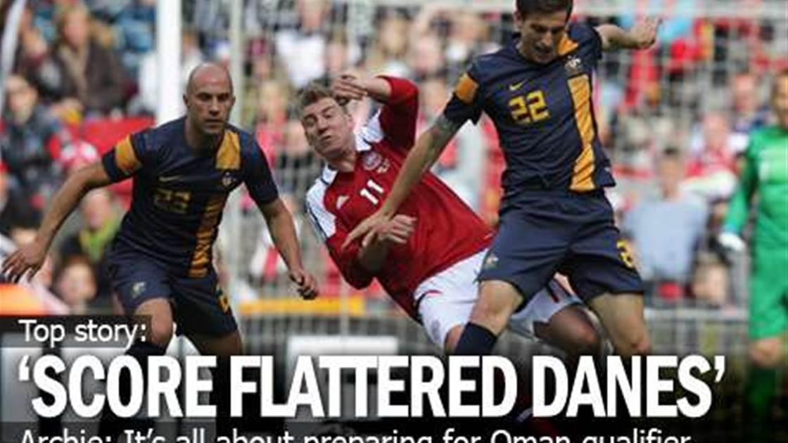 Archie Upbeat Ahead Of Oman Test