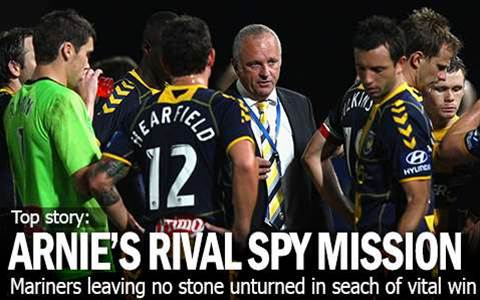 Arnie Spy Mission On Asian Rival