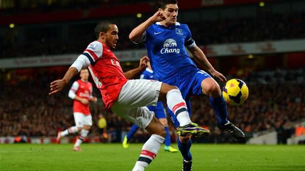 Wenger praises Everton performance