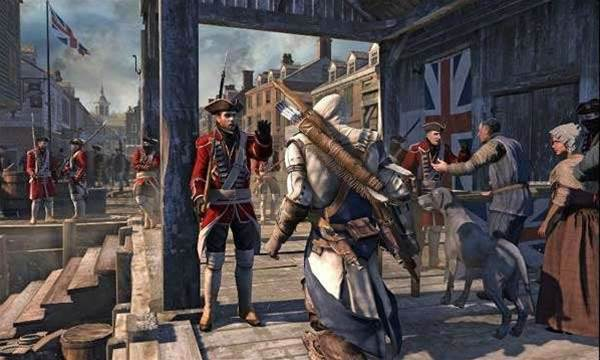 It's a bad day to be a Redcoat in the latest Assassin's Creed III trailer