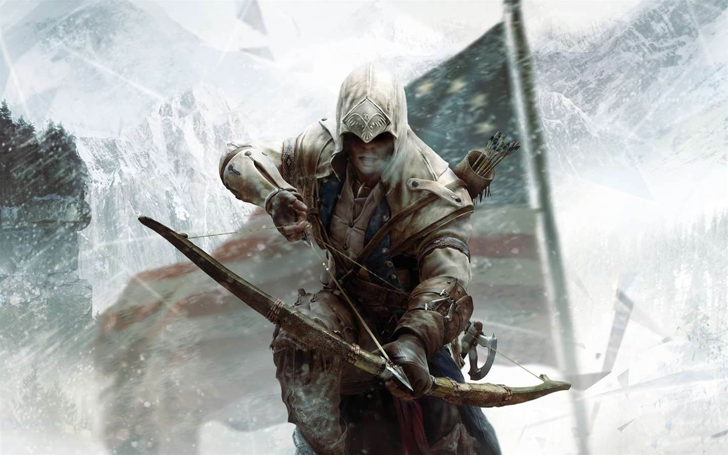 Assassin's Creed III takes a turn for the serious in a live-action trailer