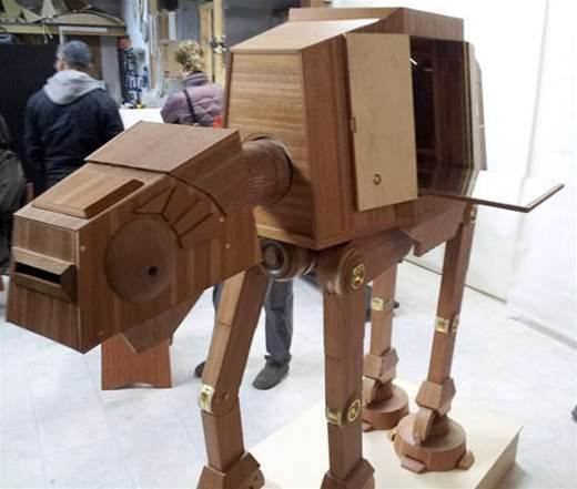 AT-AT Wine Cabinet Defends Your Drinks From Rebel Scum