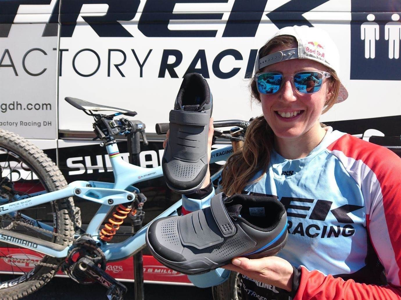 Shimano release new gravity footwear and pedals