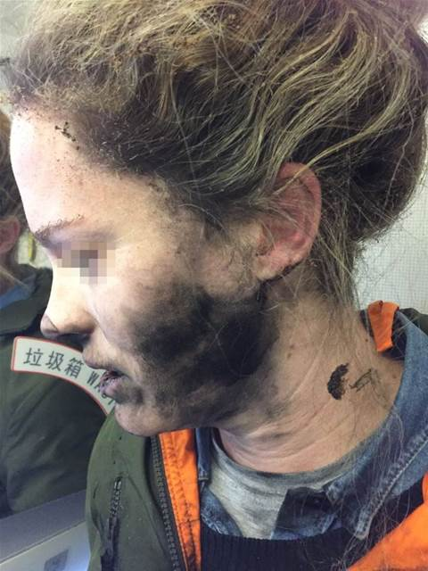 Passenger's headphones explode on Melbourne flight
