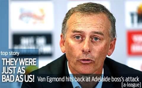 Van Egmond: They were as bad as us...
