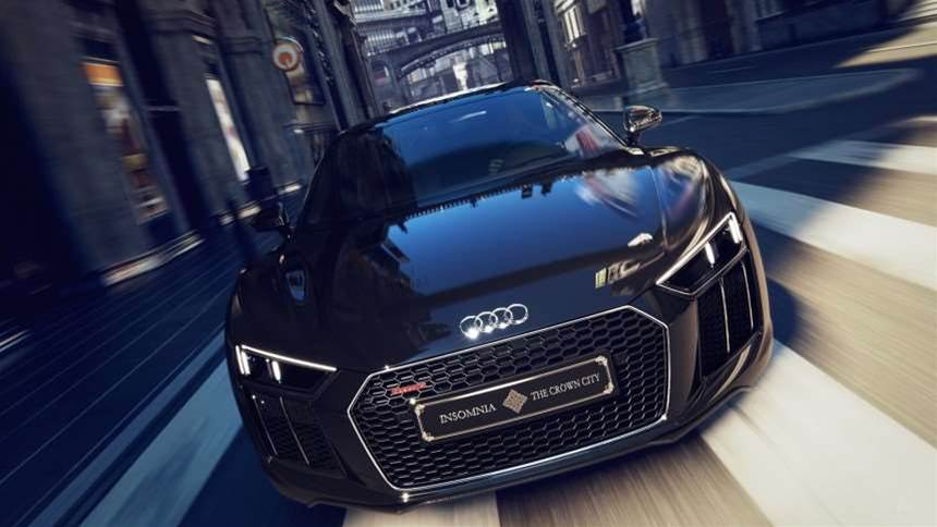 Audi has made a RIDICULOUS Final Fantasy XV edition R8