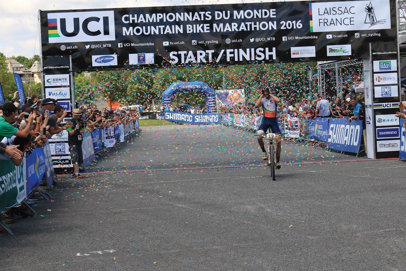 Australians at the 2016 XCM World Championships