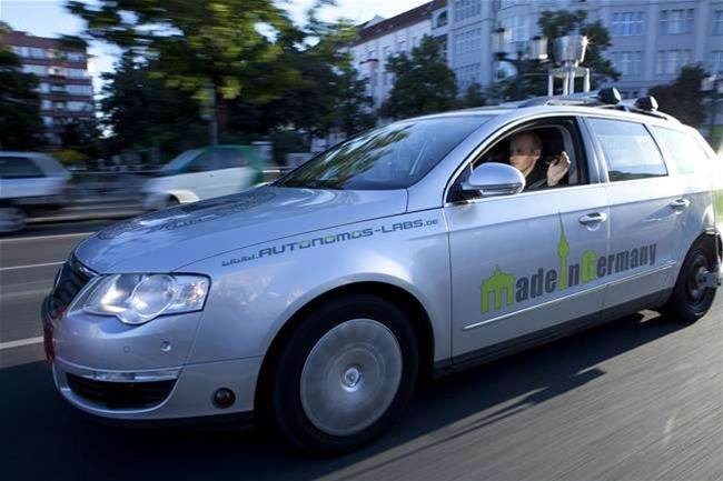 Driverless Car Completes Successful Test Run Around Busy Berlin Streets