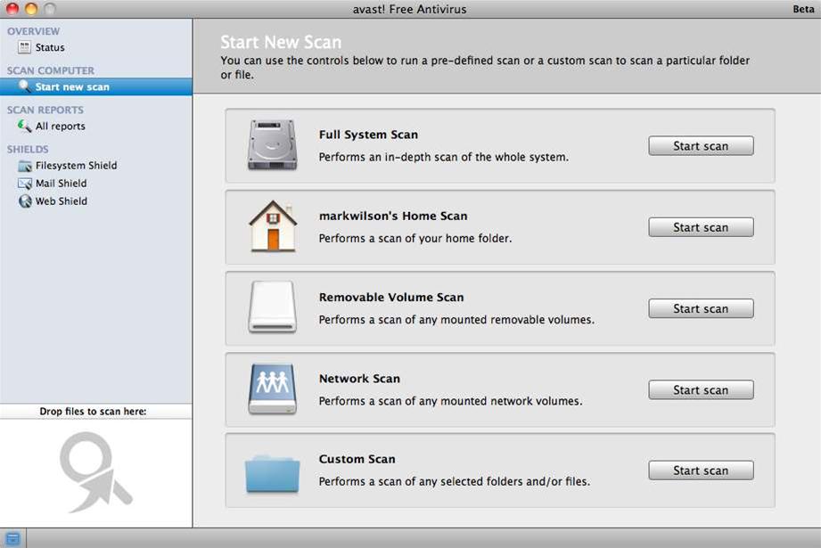 avast! brings gratis AV protection to OS X with avast! Free Antivirus for Mac beta