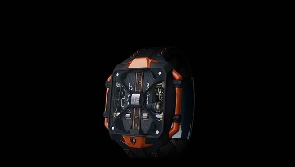 Icon: Avenger vertical tourbillon watch