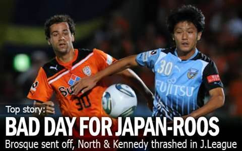 Brosque Red Carded In J.League
