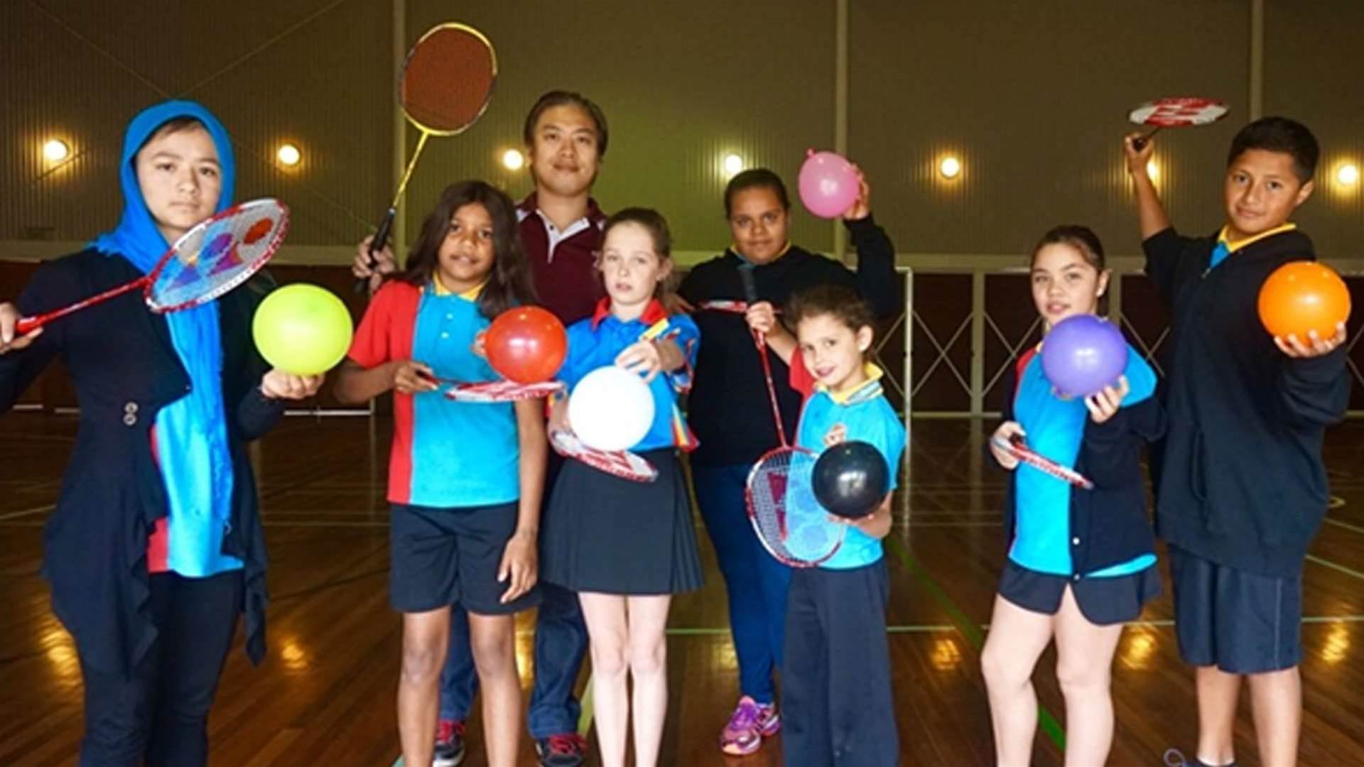 Badminton: Catching on fast