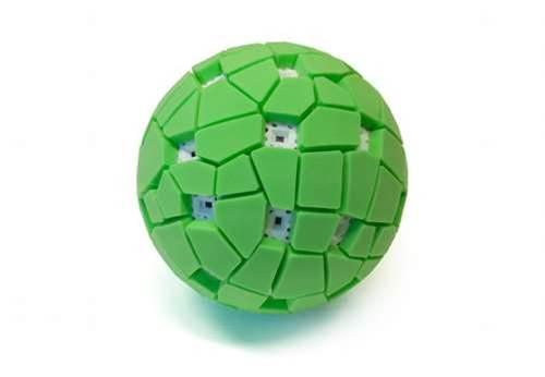 Throw Ball In Air, Take Panoramic Shots