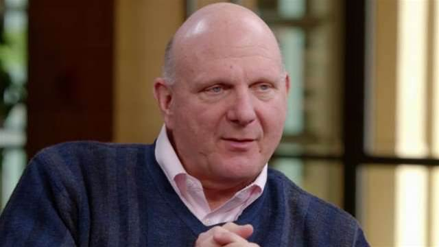 "Steve Ballmer: ""I probably did some of my very best work at the company after Bill left"""