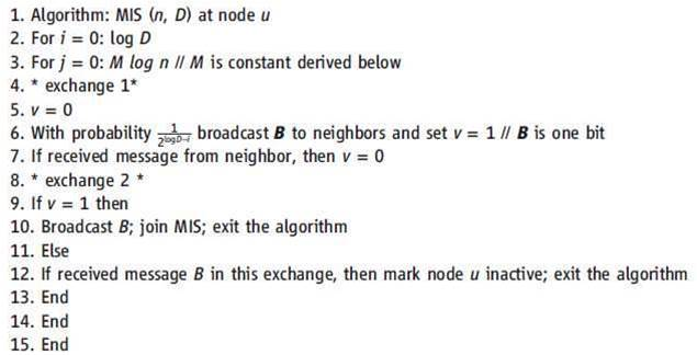 MIS selection algorithm